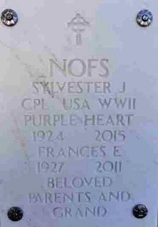 NOFS, FRANCES ELIZABETJH - Yavapai County, Arizona | FRANCES ELIZABETJH NOFS - Arizona Gravestone Photos