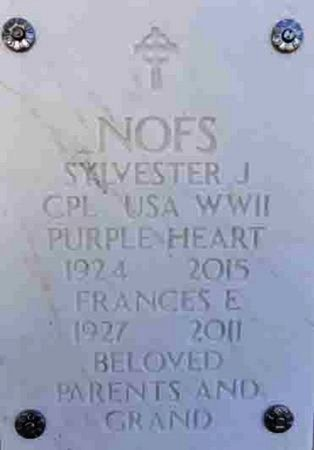 NOFS, SYLVESTER J. - Yavapai County, Arizona | SYLVESTER J. NOFS - Arizona Gravestone Photos