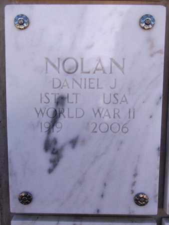 NOLAN, DANIEL JOSEPH - Yavapai County, Arizona | DANIEL JOSEPH NOLAN - Arizona Gravestone Photos