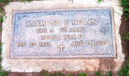 NOLAN, RAYMOND C. - Yavapai County, Arizona   RAYMOND C. NOLAN - Arizona Gravestone Photos