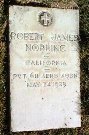 NORLING, ROBERT JAMES - Yavapai County, Arizona | ROBERT JAMES NORLING - Arizona Gravestone Photos