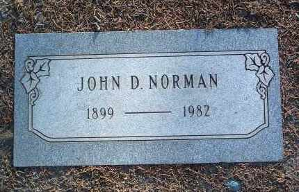 NORMAN, JOHN DEE - Yavapai County, Arizona | JOHN DEE NORMAN - Arizona Gravestone Photos