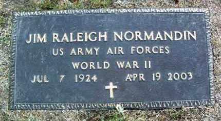 NORMANDIN, JIM RALEIGH - Yavapai County, Arizona   JIM RALEIGH NORMANDIN - Arizona Gravestone Photos