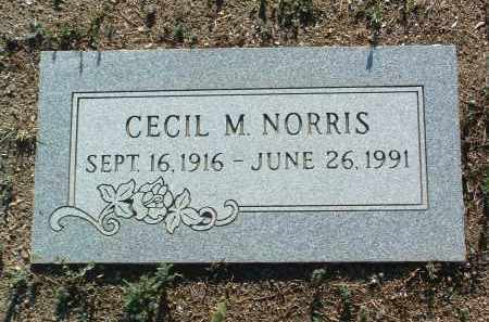 NORRIS, CECIL M. - Yavapai County, Arizona | CECIL M. NORRIS - Arizona Gravestone Photos