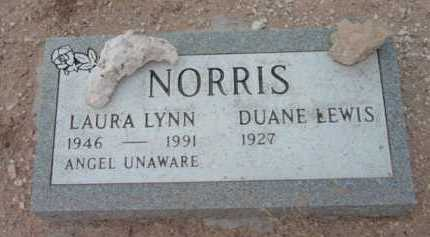 NORRIS, DUANE LEWIS - Yavapai County, Arizona | DUANE LEWIS NORRIS - Arizona Gravestone Photos