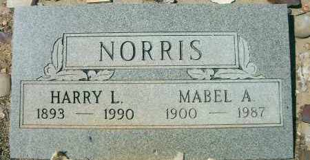 NORRIS, MABEL ADELLA - Yavapai County, Arizona | MABEL ADELLA NORRIS - Arizona Gravestone Photos