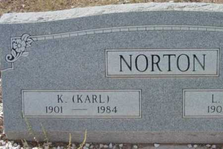 NORTON, K. (KARL) - Yavapai County, Arizona | K. (KARL) NORTON - Arizona Gravestone Photos