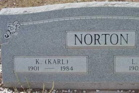 NORTON, K. (KARL) - Yavapai County, Arizona | K. (KARL) NORTON - Arizona Gravestone Photos