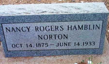 ROGERS HAMBLIN, NANCY - Yavapai County, Arizona | NANCY ROGERS HAMBLIN - Arizona Gravestone Photos