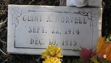 NORVELL, CLINT A. - Yavapai County, Arizona | CLINT A. NORVELL - Arizona Gravestone Photos