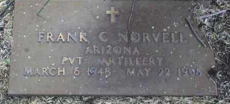 NORVELL, FRANK CALVIN - Yavapai County, Arizona | FRANK CALVIN NORVELL - Arizona Gravestone Photos