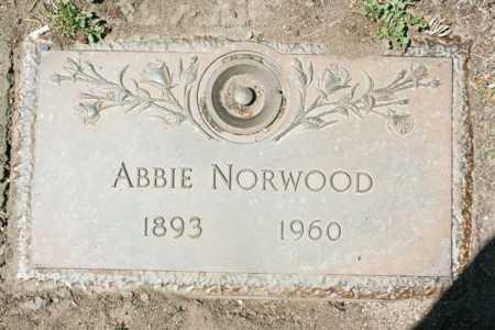 NORWOOD, ABBIE A. - Yavapai County, Arizona | ABBIE A. NORWOOD - Arizona Gravestone Photos