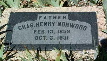 NORWOOD, CHARLES H. - Yavapai County, Arizona   CHARLES H. NORWOOD - Arizona Gravestone Photos