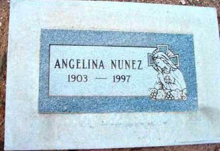 NUNEZ, ANGELINA - Yavapai County, Arizona   ANGELINA NUNEZ - Arizona Gravestone Photos