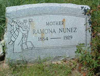 NUNEZ, RAMONA - Yavapai County, Arizona   RAMONA NUNEZ - Arizona Gravestone Photos