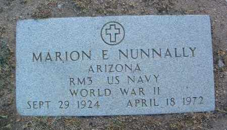 NUNNALLY, MARION EDWIN - Yavapai County, Arizona | MARION EDWIN NUNNALLY - Arizona Gravestone Photos