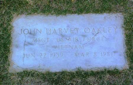 OAKLEY, JOHN HARVEY - Yavapai County, Arizona | JOHN HARVEY OAKLEY - Arizona Gravestone Photos