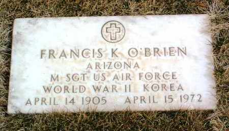 O'BRIEN, FRANCIS K. - Yavapai County, Arizona | FRANCIS K. O'BRIEN - Arizona Gravestone Photos