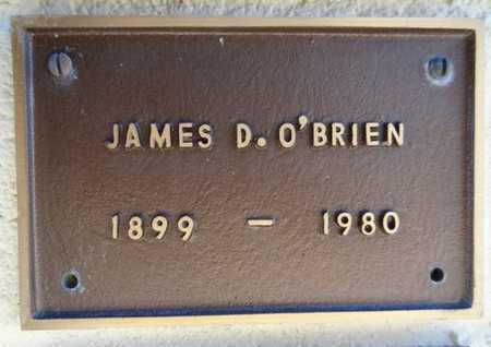 O'BRIEN, JAMES D. - Yavapai County, Arizona | JAMES D. O'BRIEN - Arizona Gravestone Photos