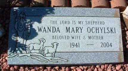 OCHYLSKI, WANDA MARY - Yavapai County, Arizona | WANDA MARY OCHYLSKI - Arizona Gravestone Photos