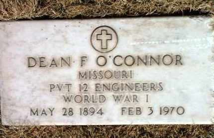 O'CONNOR, DEAN F. - Yavapai County, Arizona   DEAN F. O'CONNOR - Arizona Gravestone Photos