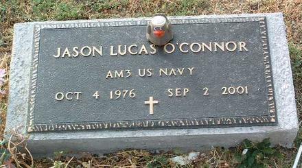 O'CONNOR, JASON LUCAS - Yavapai County, Arizona | JASON LUCAS O'CONNOR - Arizona Gravestone Photos