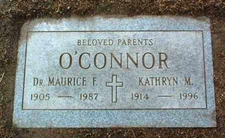 O'CONNOR, MAURICE F., DR. - Yavapai County, Arizona | MAURICE F., DR. O'CONNOR - Arizona Gravestone Photos