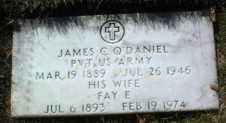 O'DANIEL, JAMES C. - Yavapai County, Arizona   JAMES C. O'DANIEL - Arizona Gravestone Photos