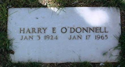 O'DONNELL, HARRY EDWARD - Yavapai County, Arizona | HARRY EDWARD O'DONNELL - Arizona Gravestone Photos