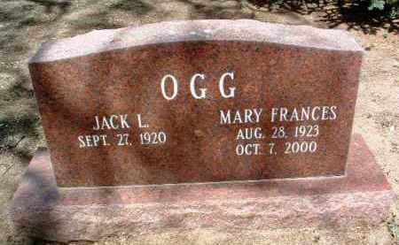 OGG, JACK L. - Yavapai County, Arizona | JACK L. OGG - Arizona Gravestone Photos