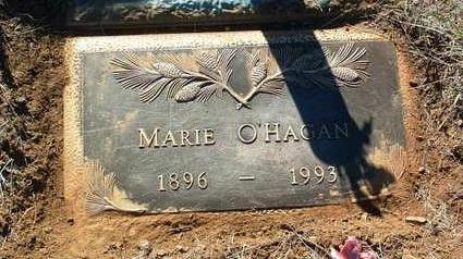 O'HAGAN, MARIE - Yavapai County, Arizona   MARIE O'HAGAN - Arizona Gravestone Photos