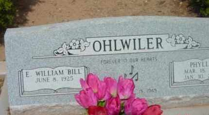 OHLWILER, ELMER WILLIAM - Yavapai County, Arizona   ELMER WILLIAM OHLWILER - Arizona Gravestone Photos