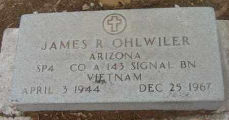 OHLWILER, JAMES R. - Yavapai County, Arizona | JAMES R. OHLWILER - Arizona Gravestone Photos