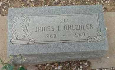 OHLWILER, JAMES EDGAR - Yavapai County, Arizona   JAMES EDGAR OHLWILER - Arizona Gravestone Photos