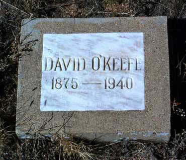 O'KEEFE, DAVID - Yavapai County, Arizona | DAVID O'KEEFE - Arizona Gravestone Photos