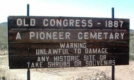 OLD CONGRESS, CEMETERY - Yavapai County, Arizona | CEMETERY OLD CONGRESS - Arizona Gravestone Photos