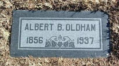 OLDHAM, ALBERT B. - Yavapai County, Arizona | ALBERT B. OLDHAM - Arizona Gravestone Photos