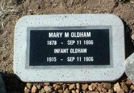 OLDHAM, INFANT - Yavapai County, Arizona | INFANT OLDHAM - Arizona Gravestone Photos