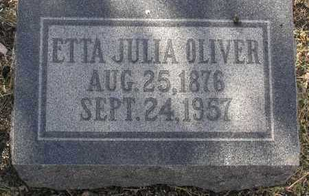 VAUGHN OLIVER, ETTA JULIA - Yavapai County, Arizona | ETTA JULIA VAUGHN OLIVER - Arizona Gravestone Photos