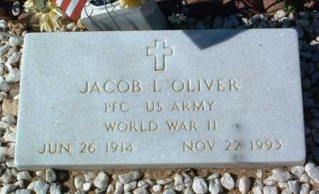 OLIVER, JACOB L. (JACK) - Yavapai County, Arizona | JACOB L. (JACK) OLIVER - Arizona Gravestone Photos