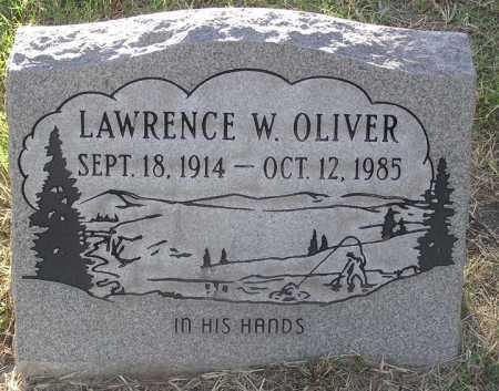 OLIVER, LAWRENCE W. - Yavapai County, Arizona   LAWRENCE W. OLIVER - Arizona Gravestone Photos