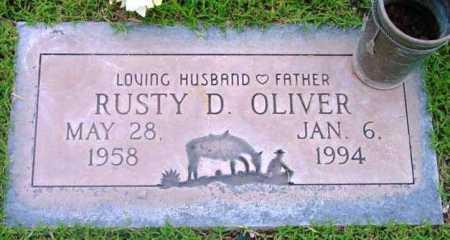 OLIVER, RUSTY D. - Yavapai County, Arizona | RUSTY D. OLIVER - Arizona Gravestone Photos