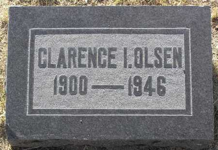 OLSEN, CLARENCE I. - Yavapai County, Arizona | CLARENCE I. OLSEN - Arizona Gravestone Photos