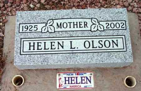 OLSON, HELEN L. - Yavapai County, Arizona | HELEN L. OLSON - Arizona Gravestone Photos