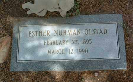 OLSTAD, ESTHER NORMAN - Yavapai County, Arizona | ESTHER NORMAN OLSTAD - Arizona Gravestone Photos