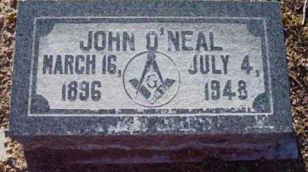 O'NEAL, JOHN - Yavapai County, Arizona | JOHN O'NEAL - Arizona Gravestone Photos
