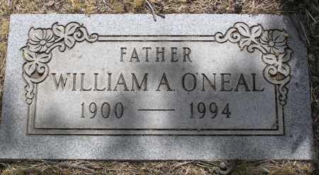O'NEAL, WILLIAM A. - Yavapai County, Arizona | WILLIAM A. O'NEAL - Arizona Gravestone Photos