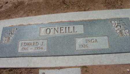 O'NEILL, EDWARD J. - Yavapai County, Arizona | EDWARD J. O'NEILL - Arizona Gravestone Photos