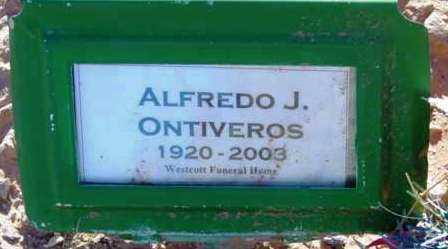 ONTIVEROS, ALFREDO J. - Yavapai County, Arizona | ALFREDO J. ONTIVEROS - Arizona Gravestone Photos