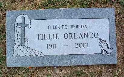 ORLANDO, TILLIE - Yavapai County, Arizona   TILLIE ORLANDO - Arizona Gravestone Photos